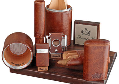 cigar cigar cutters, torch lighters and cigar cases